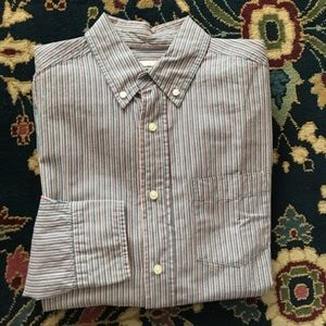 Striped Dress Shirt Men's